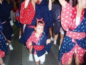 都立家政で阿波踊り.JPG